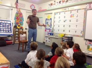 Mr. Katz tells a story about talking eggs.