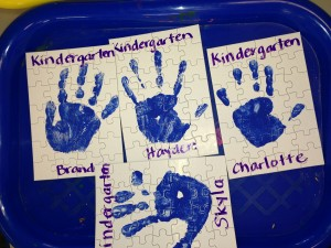 Here's a sweet gift we made for the parents to celebrate the first day of Kindergarten.